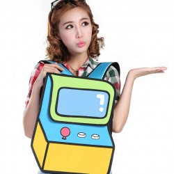 2D Bag Arcade Backpack