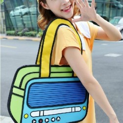 2D Bag Stereo (2 Colors)