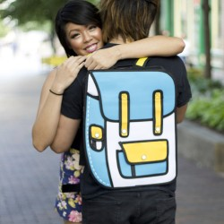 2D Backpack Blue/Yellow