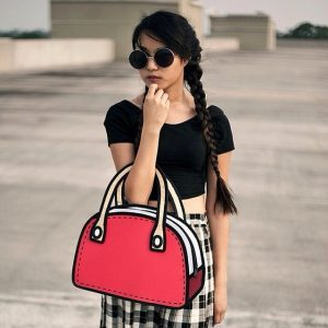 2D Bag Purse (4 Colors)