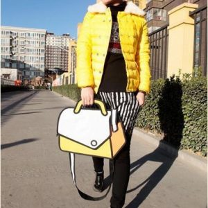 2D Bag –  Shoulder Style (2 Colors)