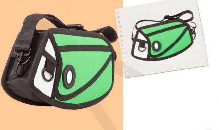 2D Mini Purse Satchel Green