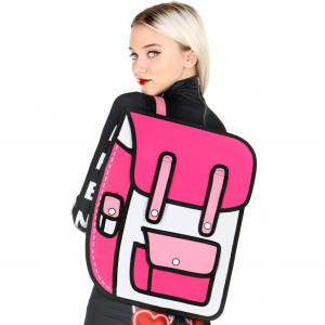 Pink 2D Backpack