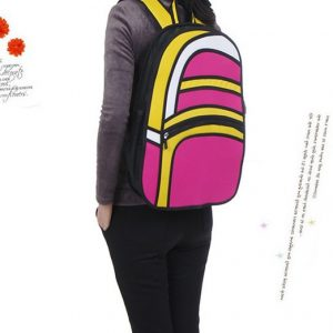 2D Backpack – Rounded Style (4 Colors)
