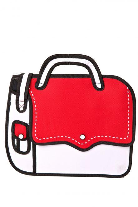 Red Dashing Shoulder Bag