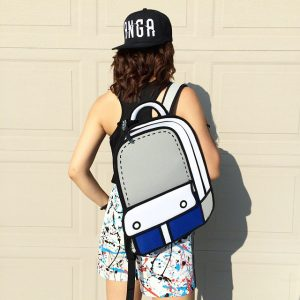 Trendy 2D Backpack (3 Colors)