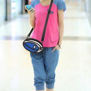 2D Bag – Round Mini Satchel (3 Colors)
