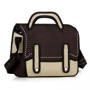 2D Bag – Quirky Style (4 Colors)