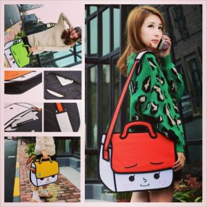 Face Cartoon Bag