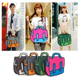 quirky 2d bag variety
