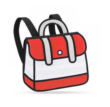 On the Town Backpack Red