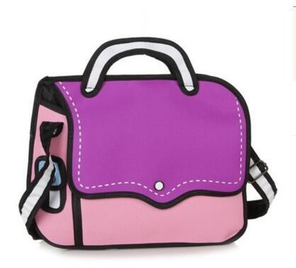 dashing shoulder bag violet