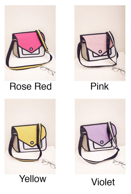 2D Bags Modern Purse All Colors