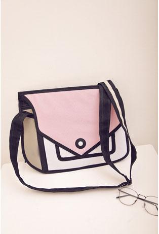 Pink 2D Modern Purse