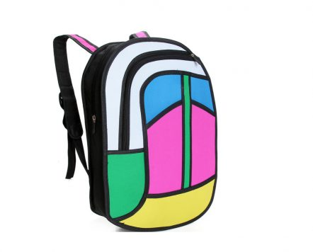 Peace Backpack 2D BAGS