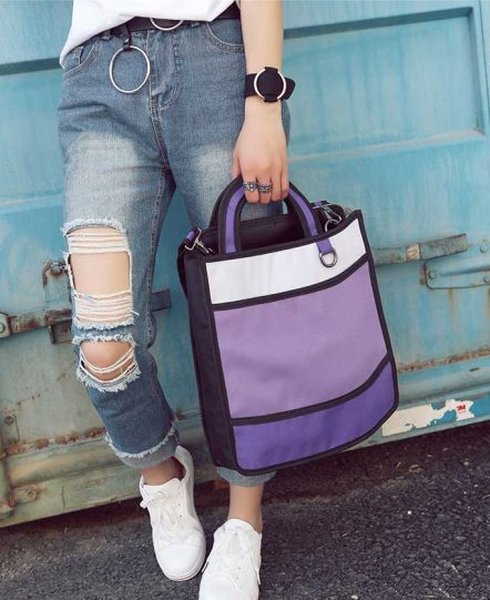 2dbags tote purple
